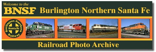 Welcome to the BURLINGTON NORTHERN Railroad Photo Archive!